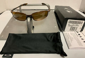 Oakley Blender Brown Chrome/Tortoise w/Bronze Iridium Polarized 4059-04 RARE