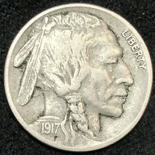 1917-S Buffalo Nickel - nice VF++