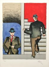 Jean HÉLION (1904-1987) Très belle Lithographie signée et justifiée de 1969.