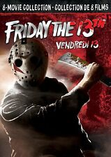 Friday the 13th 8-Movie Collection [DVD Movie Set, Horror, Terror, Scary] NEW