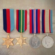 1939-45 STAR, PACIFIC STAR, 1939-45 WAR MEDAL+ 1939-45 ASM MEDAL SET