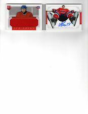 2013/14  Panini Dominion Ice Level Jersey Autographs Alex Galchenyuk 5/50!