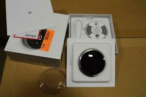 Nest T3007ES 3rd Gen Programmable Thermostat STAINLESS STEEL LIGHTLY USED