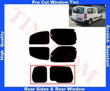 Pre-Cut Window Tint Citroen Berlingo 5D 08-.. Rear Window & Rear Sides Any Shade