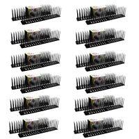 24x Vogelabwehr Spikes   Taubenabwehr Vogelspikes   Taubenspikes Vogelschreck
