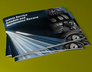 Service Book Car History Handbook Blank Volkswagen VW Golf Polo Passat UP Caddy