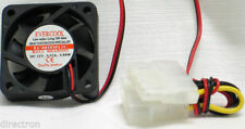 Evercool 40mm Case Fan, 12V, with Male / Female 4 Pins, EC4010M12C, Low Noise