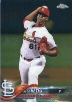Alex Reyes 2018 Topps Chrome Baseball #5  St. Louis Cardinals
