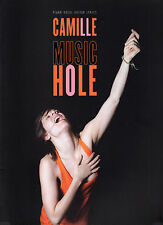 "CAMILLE ""Music Hole""12 titres,Piano,Vocal,Guitar,Lyrics (PARTITIONS/SHEET MUSIC)"