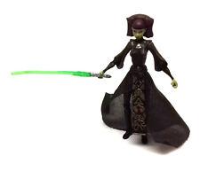 "Star Wars Clone Wars Luminara Unduli Jedi 3.75"" Juguete Figura de acción rara"