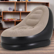 Inflatable Chair Large Gaming Adult Bean Bag Sofa Ultra Lounge Couch w/