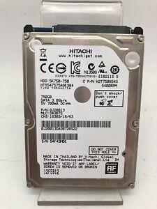 Disque dur Interne HDD 750Go Hitachi Modèle HTS547575A9E384 d'Occasion!!!