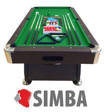 Simba Tavolo da Biliardo Accessori per Carambola 220 X 110cm
