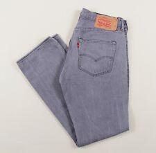 Vintage LEVI'S 501 Grey Regular Straight Mens Jeans 34W 32L 34/32 /J27021