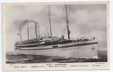 Lancashire Collectable Steam Ship Postcards