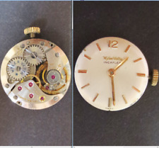 wyler vetta eta 2510 movimento movement manual old watch dial tige parts working