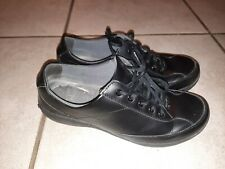 Dansko Black Leather Sneakers Size 39