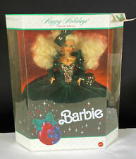Happy Holidays Barbie Doll by Mattel 1991