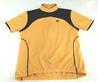 IQ PEARL IZUMI Yellow Ultra Sensor Cycling Jersey Short Sleeve Size Medium