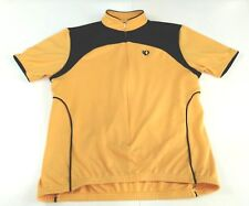 Iq Pearl Izumi Yellow Ultra Sensor Cycling Jersey Short Sleeve Size Medium