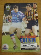 19/04/1994 Stockport County v Port Vale  . Thanks for viewing this item offered