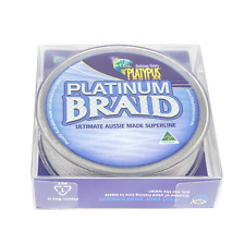 Platypus Platinum Fishing Braid - Grey or White - World's Best Since 1898!