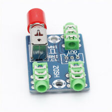 Audio Switch Board 3.5MM Audio Input A B Two Group Switch Select Input Output
