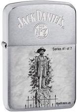 Zippo 28736, Jack Daniel's Scenes Lighter, Limited, #1 of 7, Brushed Chrome