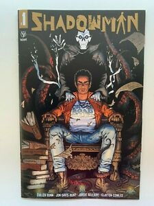 Shadowman #1 1:25 Gold Logo Incentive Variant Cover Valiant Comics 2021