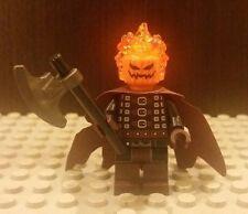 Lego NEW CUSTOM Headless Horseman Minifigure With Axe