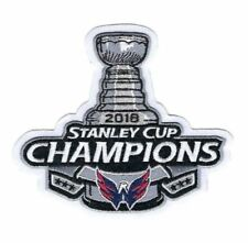 WASHINGTON CAPITALS 2018 STANLEY CUP CHAMPIONS IRON ON JERSEY PATCH 4X4 US SELLE