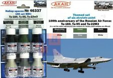 """Russia AF Heawy Bombers colours set (acrylic), by """"AKAN"""" 46337"""
