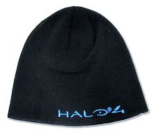 """HALO 4 """"BLUE LOGO"""" REVERSIBLE BEANIE HAT NEW OFFICIAL"""