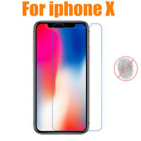 Matte/ Anti-Glare Front Screen Protector Protective Film Skin For iphone X Lot