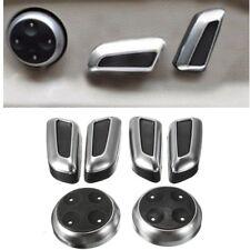 Chromed Seat Adjustment Switch Cover Trims for Audi A3 A4 A5 A6 Q3 Q5 VW Tiguan