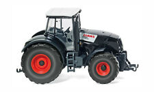 HO scale Wiking Claas Axion 850 Tractor in Black   # 36302 : 1:87 Farm Model