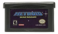 Metroid Zero Mission Game Boy Advance game w/ CASE GBA