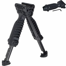 Tactical Vertical T-Pod Grip Military Bipod Mount with Picatinny Rail