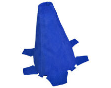 FITS HONDA INTEGRA DC5 ACURA RSX 2002-2006 GEAR BOOT BLUE REAL SUEDE