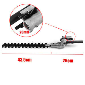 Pole Hedge Trimmer Attachment For Petrol Power Head Brush Cutter Lawn Mower