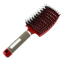 Unisex Hair Comb Massage Abody Scalp Detangle Hairbrush Nylon Brush Wet Bristle*