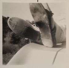 VINTAGE OPPOSITES ATTRACT SNEAKERS VS SANDALS FINE VERNACULAR PHOTOGRAPHY PHOTO