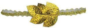 Gold Laurel Leaf Wreath Headband Toga Greek Grecian Egyptian Roman Unisex Adult