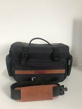 Vintage PULLMAN Camera Bag Case With Strap For Camera & Accessories SLR DSLR