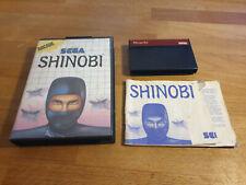 Shinobi Sega Master System OVP CIB komplett