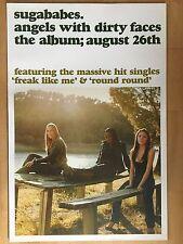 SUGABABES 2002 ALBUM   -   orig.Promo Poster  --  Album Plakat   NEU