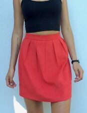 High Waist Regular Size Mini Skirts for Women