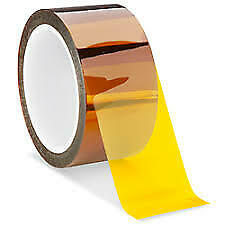 50mm X36yd Kapton Polyimide Silicone High Heat Resistant Tape 25mil Thick K201