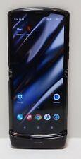 "Motorola razr Lte 128Gb Folding Flip Phone (Verizon) 6.2"" Xt2000-1 Black Read"