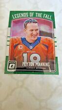 2016 Donruss Optic Legends of the Fall Football Card # 13 Peyton Manning Broncos
